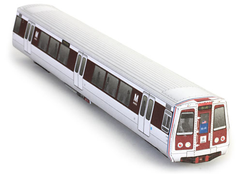 wurlington press metro train metro train model