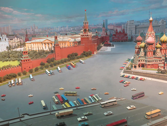 Mini Cities - Panorama of Moscow