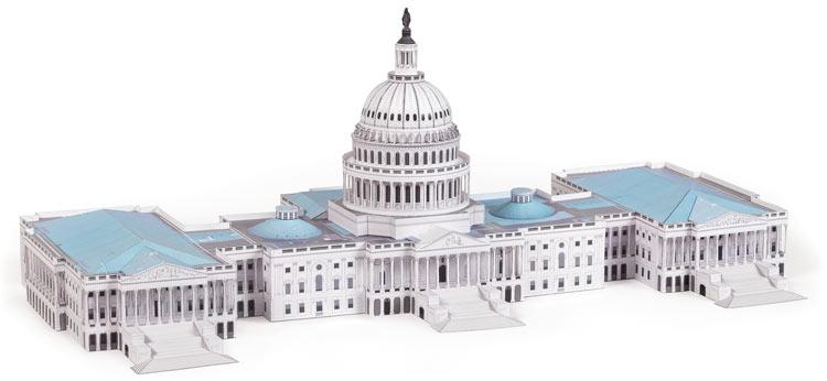 Cut & Assemble the Capitol Building